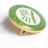 Cheap Copper Medal Custom high quality enamel lapel pins with epoxy for sale