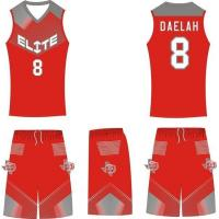 China Latest Basketball Jersey Design Blank Sublimation Basketball Uniform on sale