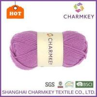 Cheap Charmkey wholesale wool yarn hand knitting baby sweaters yarn from China Supplier for sale