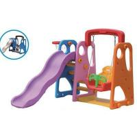Cheap Kids Plastic Slide and Swing Play Sets for Home for sale