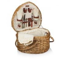 Buy cheap Picnic Time Woven Heart Picnic Basket for 2 from wholesalers