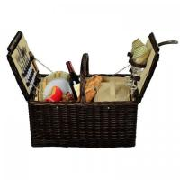 Buy cheap Picnic at Ascot Surrey Willow Picnic Basket with Service for 2 - Hamptons from wholesalers