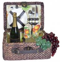 Cheap Picnic Gift - Rumba- Basket Deluxe Service For Two for sale