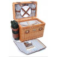 Cheap Picnic & Beyond Brio Collection - (B) 2 Person Willow Picnic Basket for sale