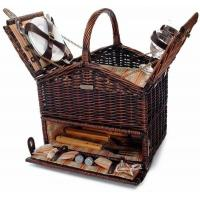 Cheap Picnic & Beyond Classique Elite Picnic Basket with BBQ tools and Service for Two for sale