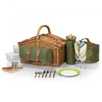 Cheap Picnic Time Somerset Willow Basket for Two for sale