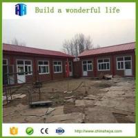 Cheap Rock wool prefabricated house modular steel structural container school for sale