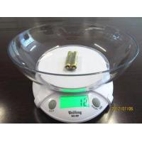 Buy cheap White Color Home Electronic Scale With 2 AAA Batteries Power Supply from wholesalers