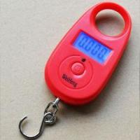 Buy cheap Colorful Digital Hanging Scale Tare Function With 1 * CR2032 Battery Power from wholesalers