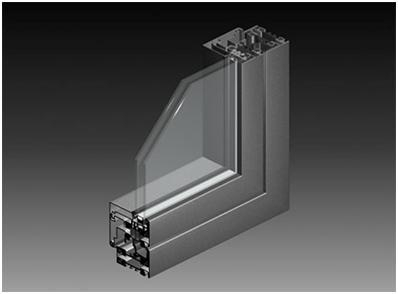 China KN70 Steel Thermal insulated door and window System