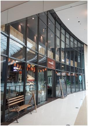 China M65 Steel Curtain wall and Steel Sun Room System