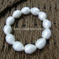 Cheap Large Pearl Beads Bracelet for Wedding 2017 for sale