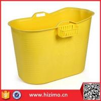 Cheap Food Grade PP5 Material Plastic Bath Tub for Adult for sale