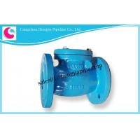 Buy cheap Cast Iron DIN BS EN ANSI JIS KS GOST PN16 PN10 H44T-16 Check Valve Factory from wholesalers
