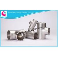 Buy cheap Carbon Steel/alloy Steel/stainless Steel Equal/unequal Tee Fittings from wholesalers