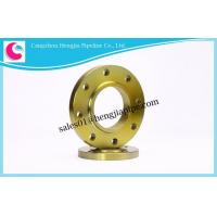 Buy cheap PN Designed Stainless Steel Slip on Pipe Flanges Dimensions from wholesalers