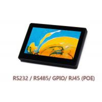 China 7 Inch Wall Mount Touch Panel Terminal For Web - Based Application , Time Tracking on sale