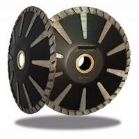 Cheap 125mm Concave or Convex Curved Turbo High Grade Granite Concrete Diamond cutting Blade for sale
