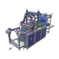 Garbage bag bag making machine