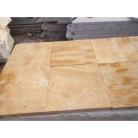 Cheap Golden yellow sandstone for sale
