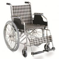 Cheap #JL869LX  29 lbs. Simple Ultralight Wheelchair With Dual Cross Brace for sale