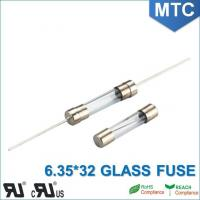 Cheap MTC 6.0*30mm 6.35X32mm 0.1~30A Time-Lag Glass Fuse for sale