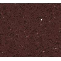 Buy cheap SS1816 Crystal Dark Red Engineered Stone Quartz Tiles Floor Tiles Wall Tiles from wholesalers