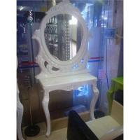 China Cheap Mirror Furniture Dressing Table Antique Vanity Dresser with Mirror, Make Up Mirror for Sale on sale