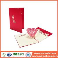 Cheap Different Types 3d Heart Pop Up Valentines Card Template Free for sale