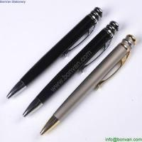 Cheap Hot selling slim promotional metal pen stylus ball point pen for hotel use for sale