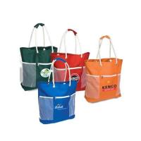 Cheap Rope Handle Polyester Beach Tote Bag for sale