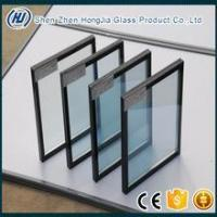 Sound Proof UV block double triple silver coated low-e IGU insulated glass