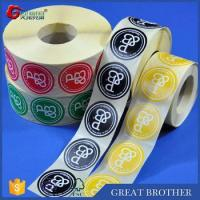 Cheap Rolls of labels and stickers for custom printing,round shape stickers for sale