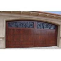 Cheap Wooden Garage Door with Window Inserts for sale