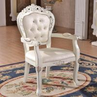 China White wedding wood armchair hand carving mordern design on sale