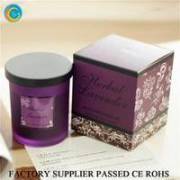 Cheap Flamless luxury soy scented candles glass jars for sale