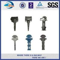 Buy cheap Competitive Carbon Steel Rail Cast Iron Shoulders For Fastening Railroad from wholesalers