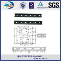 Buy cheap Standard UIC54 Rail Metal Fish Plate For Railway Fastener / Joggled Fish Plate from wholesalers