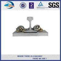 China 44 - 48HRC Hardness E Clip Vossloh Fastening Systems Bitumen Dacromet on sale