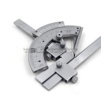 Universal Bevel Protractor 320 degree Angular Dial Stainless steel angle Gauge #WSG-04008