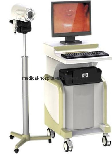 Electronic Medical Instruments : Trolley electronic colposcope mcg c t with certificate of
