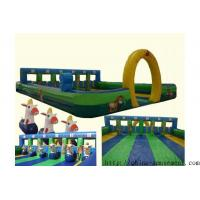 Cheap sports game inflatable horse racing for sale