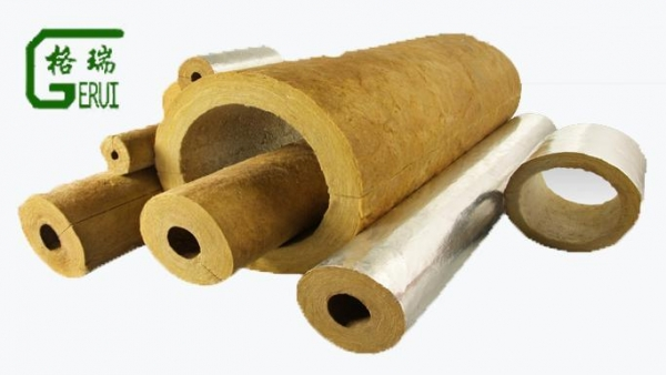Gerui rockwool pipe with certificate of rockwool pipe for Mineral wool pipe insulation