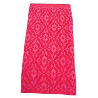 China Pink & Red Ikat Print Oversized Beach Towel - Out of Stock on sale