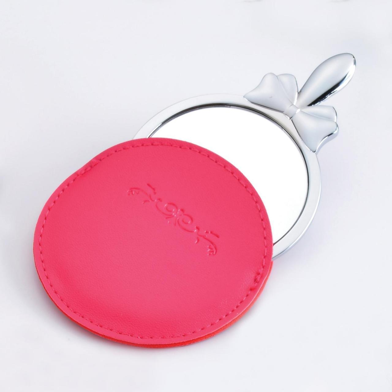 Cheap Cosmetic Mirror with leather case for sale