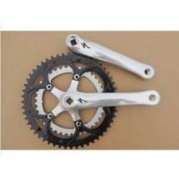 China Double Alloy Bicycle Chainwheel Crank Bicycle Sprocket Crank (PFT-713) on sale