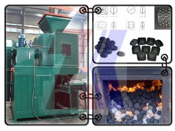 China Carbon black briquetting machine