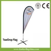 Cheap 8ft 2.4m Outdoor Flying Banner Flags for sale
