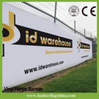 Cheap Custom Vinyl Banner Fence Banner Mesh Banner for sale