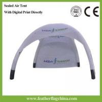 Cheap Inflatable Tent With Digital Print By Feather Flag China for sale